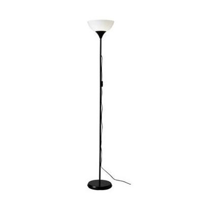 Stehlampe / Lampe / Deckenfluter - Halogen schwarz