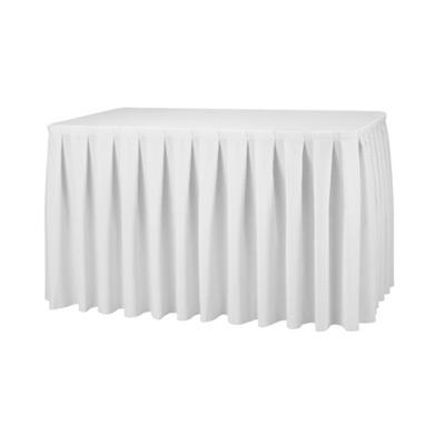 Tischskirting / Tischbezug / Tischwäsche