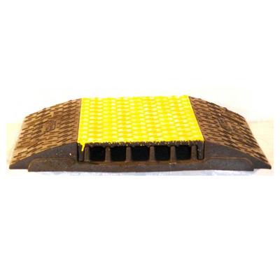 Kabelbrücke / Gummi Matte / Yellow Jackets / Überfahrschutz / Überfahrrampe / Fußbodenkanal / Aufbodenkanal