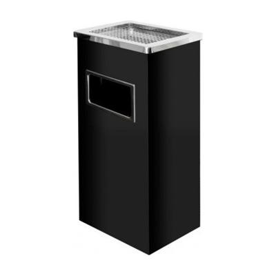 Standaschenbecher mit Mülleimer / Aschenbecher / Abfalleimer