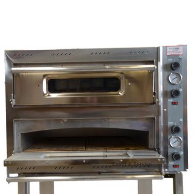 Pizzaofen doppelt / Pizza / Ofen mit Untergestell