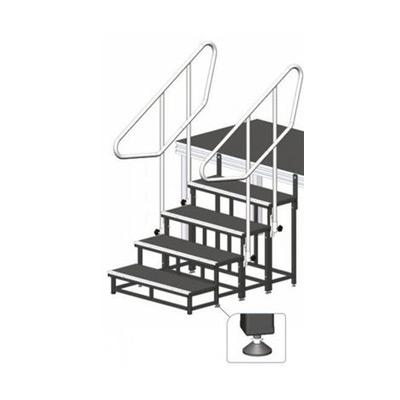 Modulare Treppe, Höhe 80 cm / Bühnentreppe