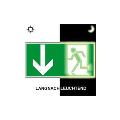Notausgangsbeschilderung / Notausgangsschild / Notausgang / Fluchtweg / Beschilderung