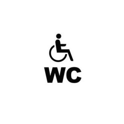 Fahne Handicap / Menschen mit Belangen