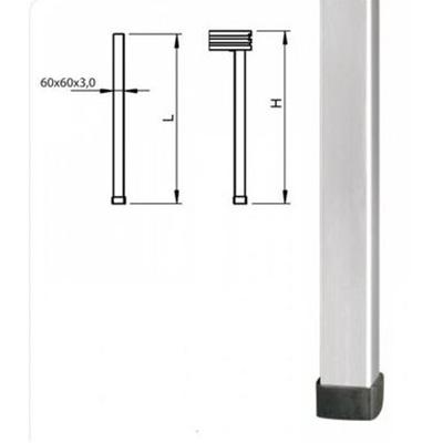 Bühnenfuß 20cm / Aluminiumfuß