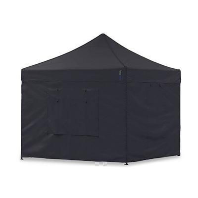 Faltpavillon 3x3m / Faltzelt / Partyzelt / Schnellaufbauzelt (schwarz)