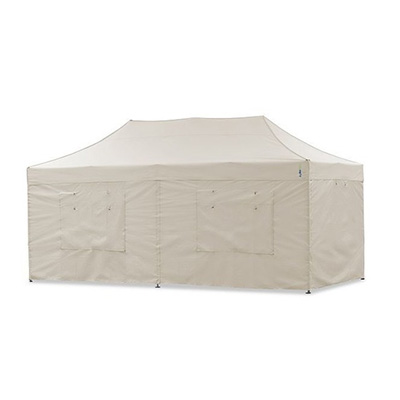 Faltpavillon 6x3m / Faltzelt / Partyzelt / Schnellaufbauzelt (weiß)